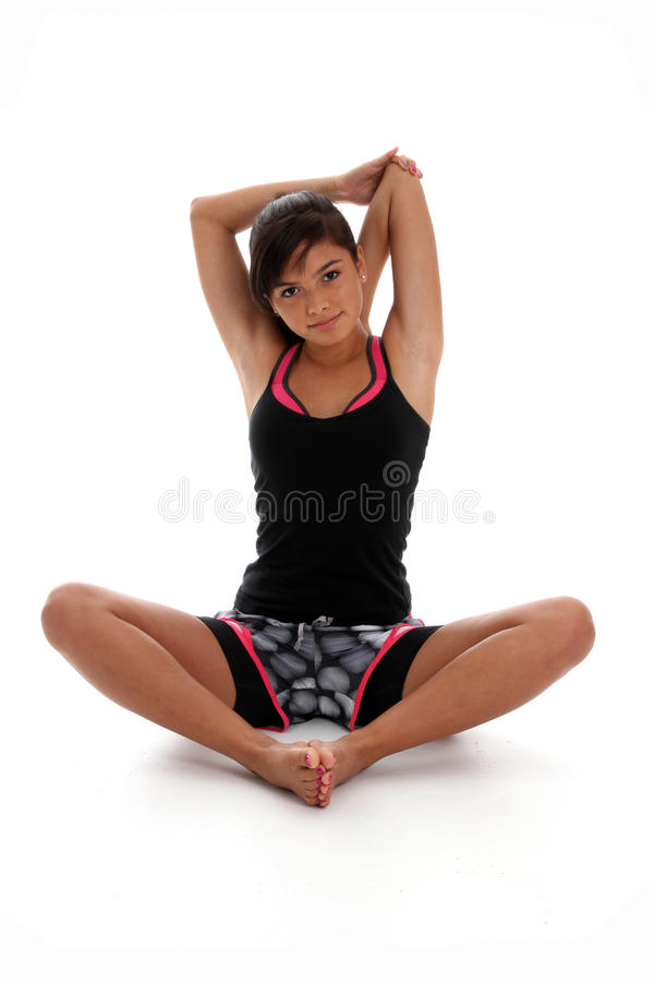 Download Teenager Stretching stock image. Image of flexible, stylish - 25469755