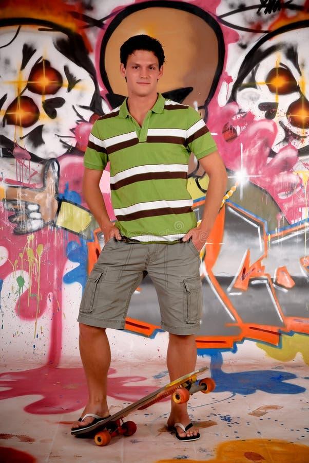 Download Teenager Urban Graffiti Stock Photo - Image: 11870650