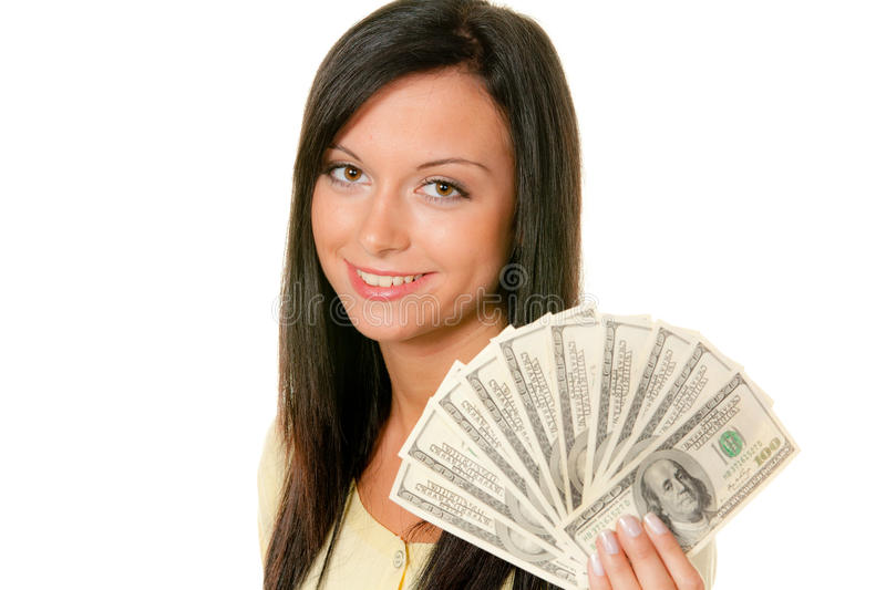 Download Teenager With Wad Of Dollars Stock Photo - Image: 11122320