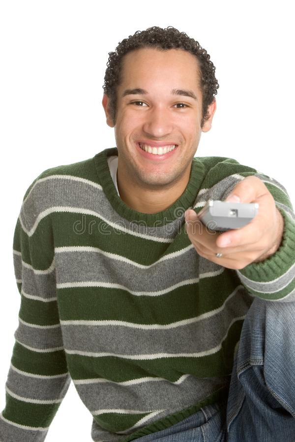 Download Teenager Watching TV Stock Photography - Image: 4031692