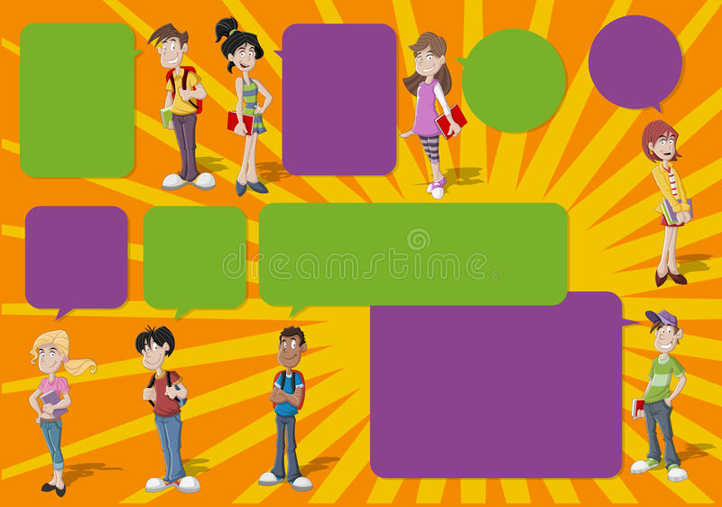 Teenagers. Stock Images