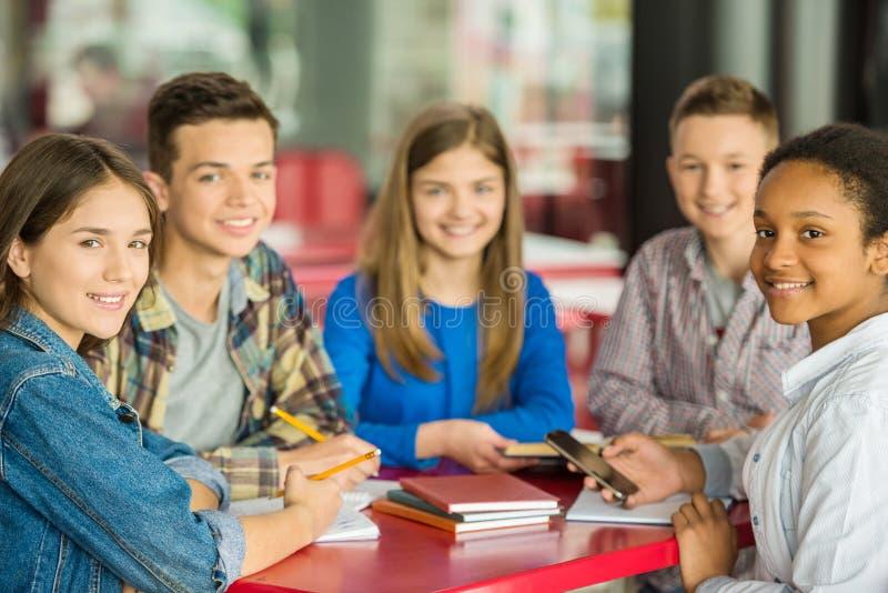 teenagers foto de stock