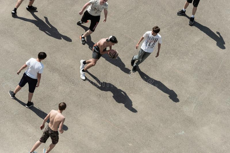 Street-ball royalty free stock images