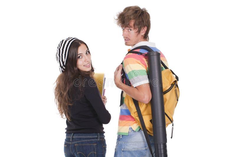 Teenagers Students Stock Photo