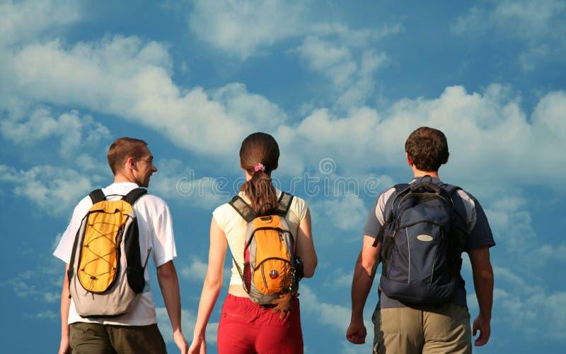 teens τρία στοκ εικόνα