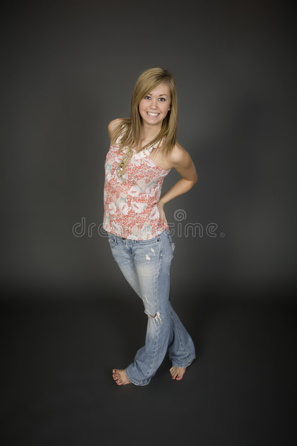 Teens Royalty Free Stock Photography
