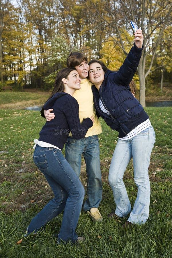 Teens royalty free stock photo