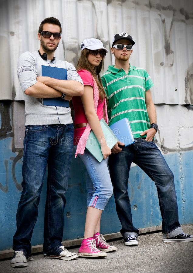 Teens 4 royalty free stock image
