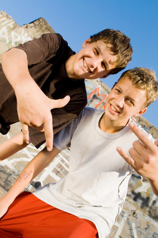 Download Teens stock photo. Image of happy, hand, joke, buddy, expression - 9602402