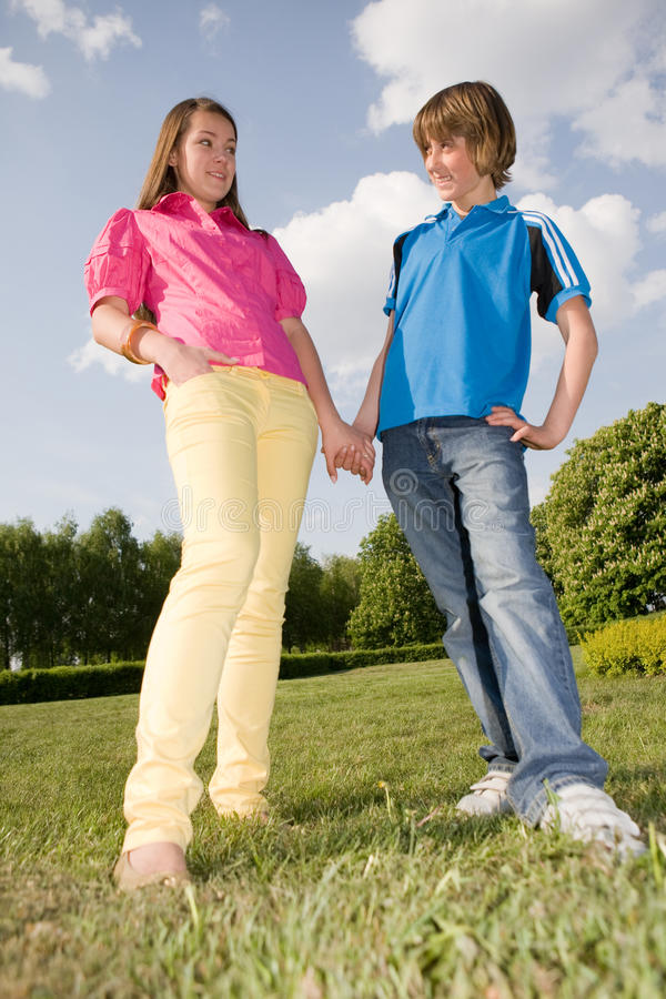 Teens royalty free stock image