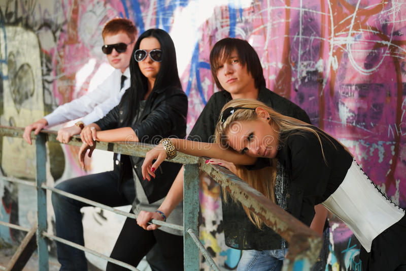 Download Teens At Abandoned Apartment Stock Photo - Image: 23868110