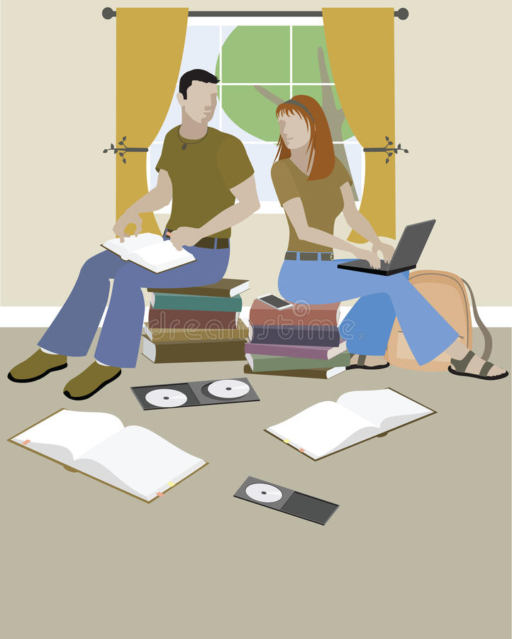 Download Teens On Books Stock Images - Image: 28458134