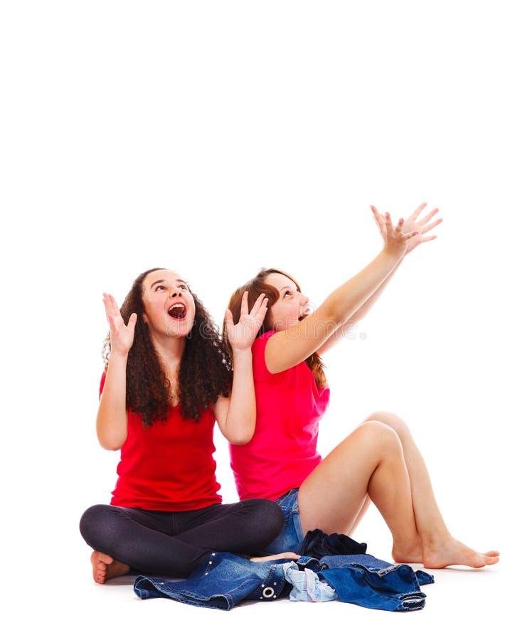 Download Teens catching something stock image. Image of child - 26374071