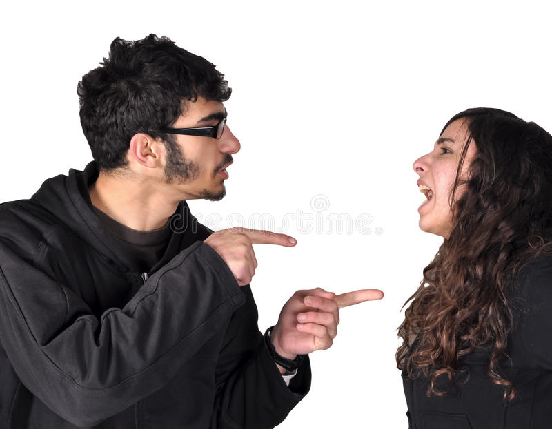 Download Teens fighting stock photo. Image of teenage, teen, couple - 23515806