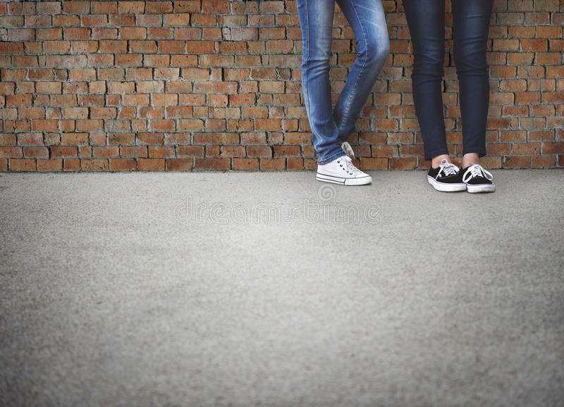 Teens Friends Hipster Fashion Trends Concept royalty free stock photography