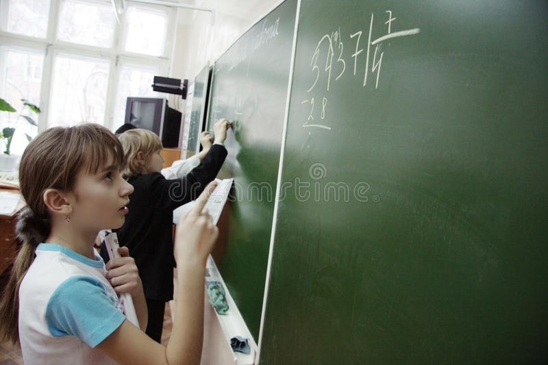 Download Teens On Math Lesson At School Editorial Stock Photo - Image: 23143368