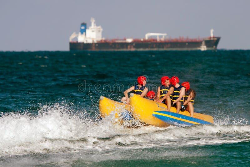 Download Teens Ride On Banana Boat In Florida Editorial Photo - Image: 25458696