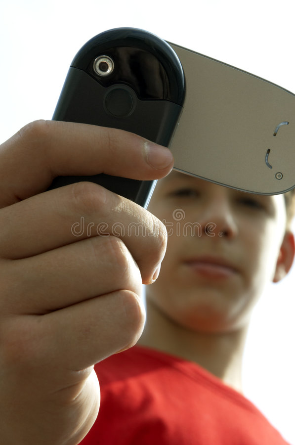 Download Teens snaping by phone stock photo. Image of cell, glass - 188314