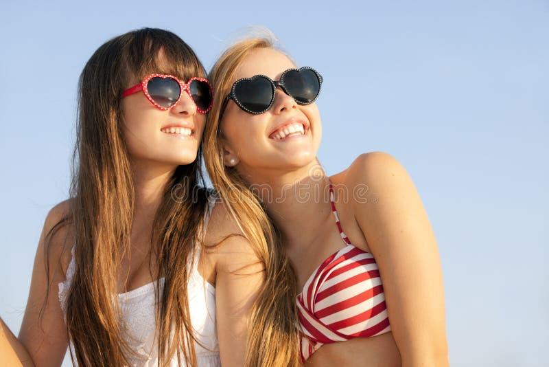 Teens vacation stock photo
