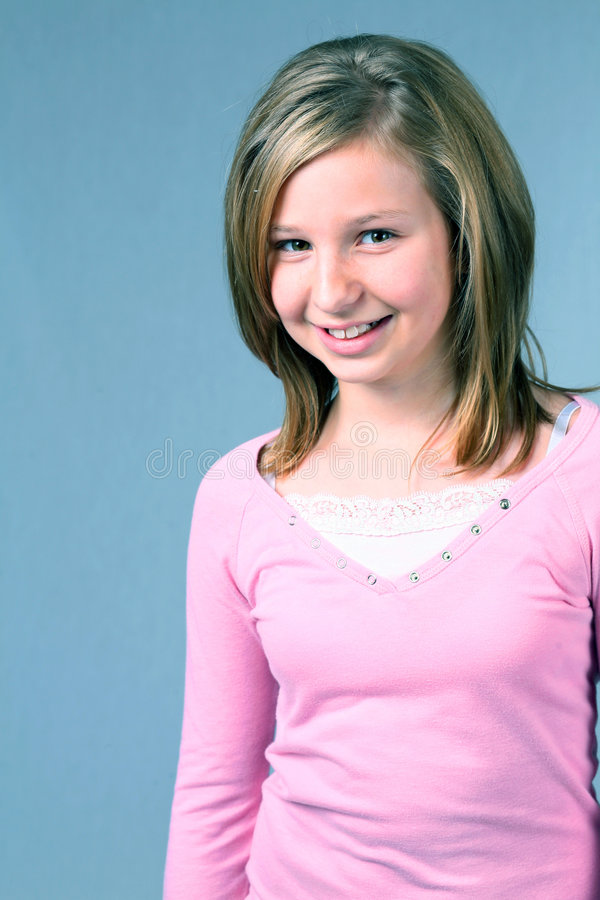 Download Teeny Bopper stock image. Image of childhood, blond, eyes - 3736573
