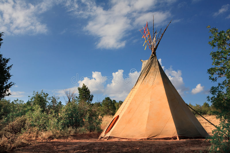 Teepee royalty free stock images