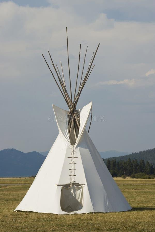 Teepee do nativo americano foto de stock