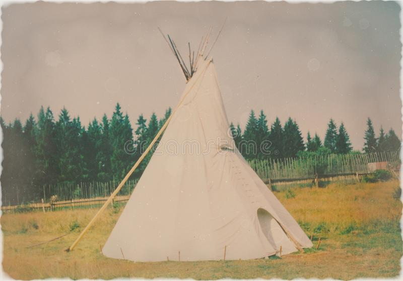 Teepee indien images stock