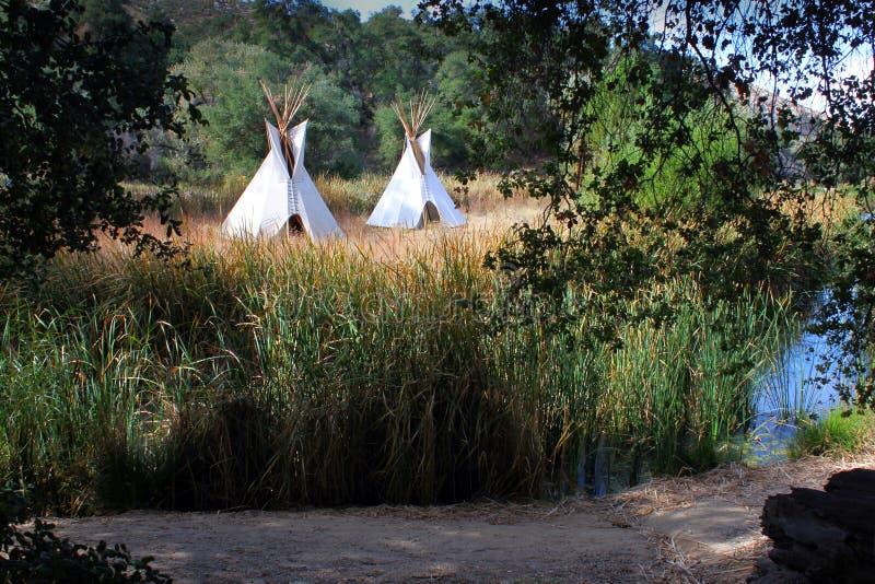 teepees τιμής τών παραμέτρων δυτικά στοκ εικόνες