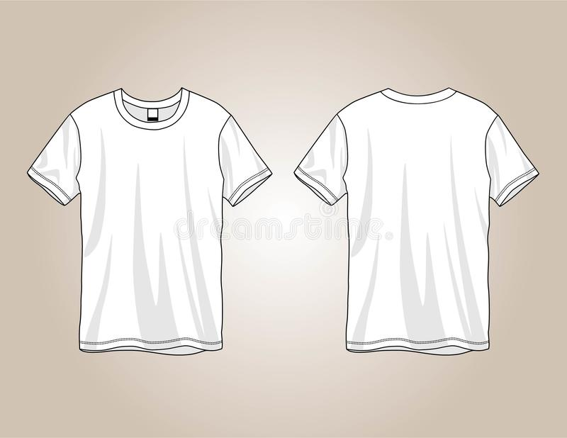Tees Vector Template Design Stock Vector - Illustration of back ...