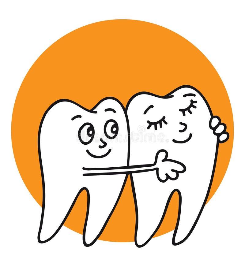 Download Teeth stock illustration. Illustration of filling, happy - 17091351