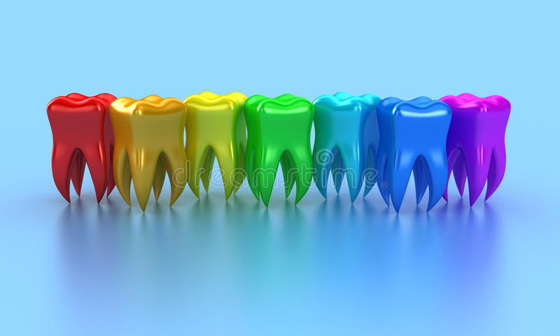 The Teeth Royalty Free Stock Photo