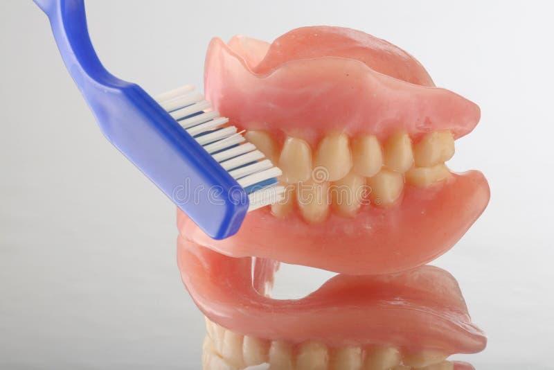 Teeth care stock image