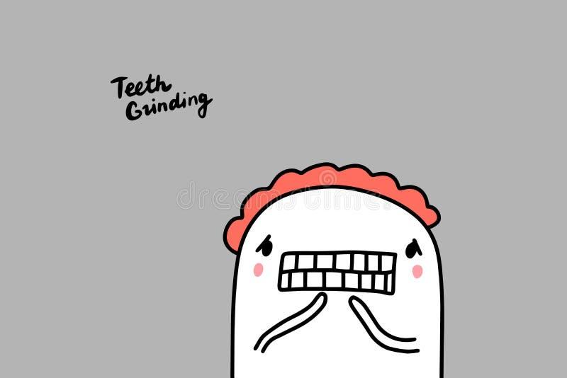 Chattering Teeth Stock Illustrations – 88 Chattering Teeth Stock  Illustrations, Vectors & Clipart - Dreamstime