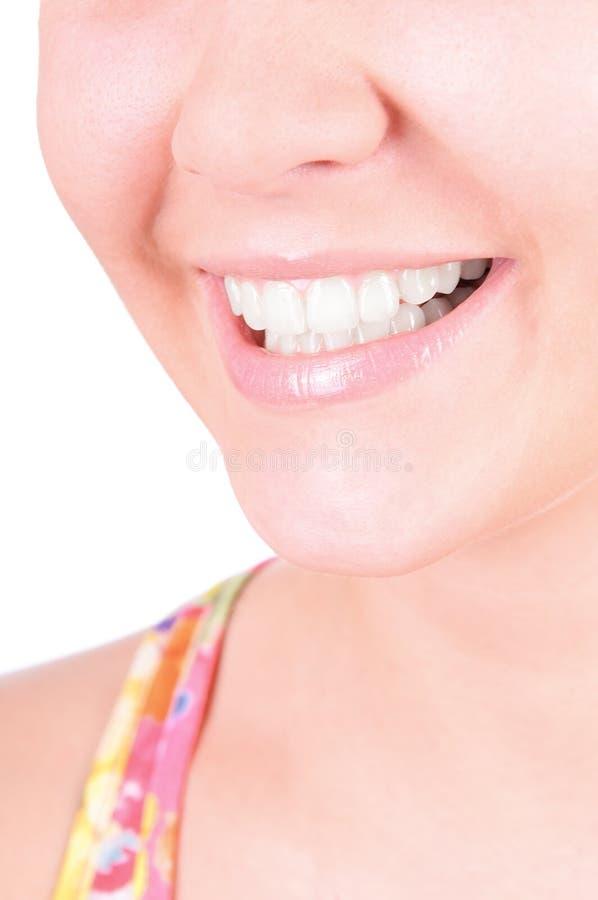 Teeth whitening. Dental care royalty free stock photos