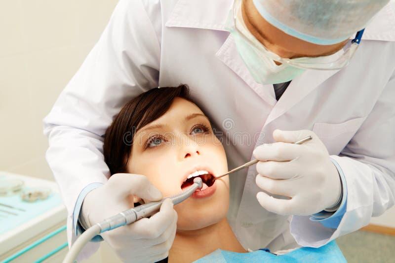 Teethcare royalty free stock image