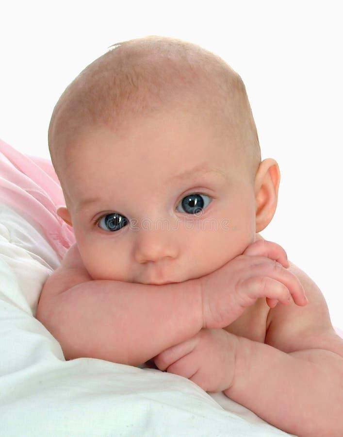 teething младенца стоковое изображение