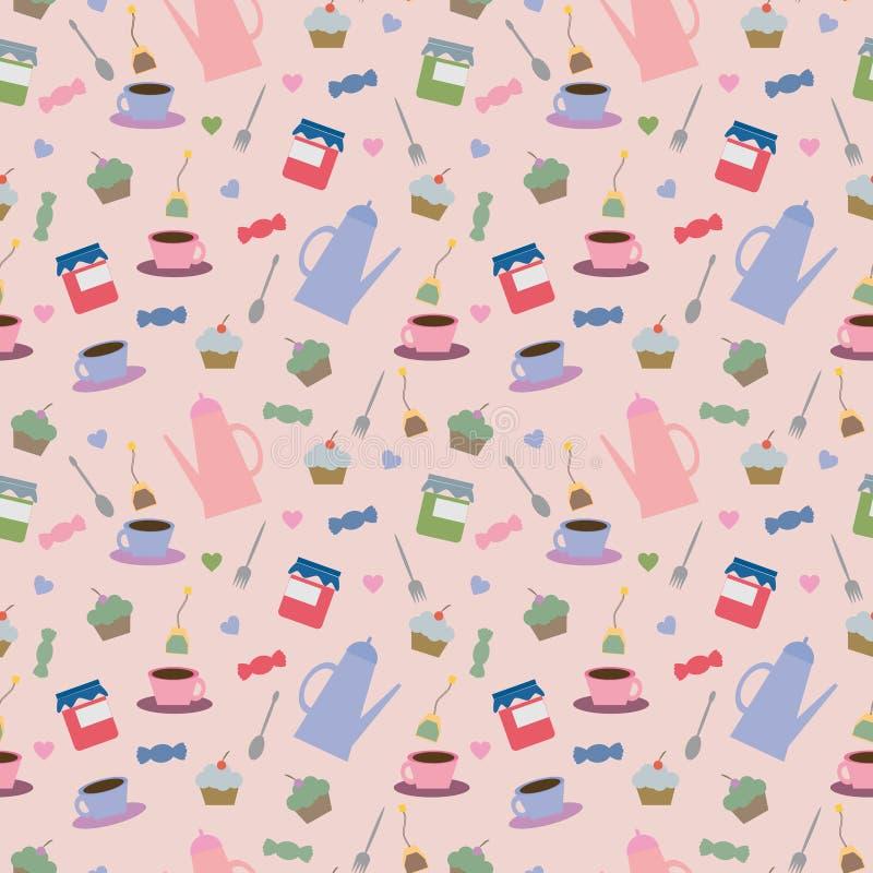 Teetrinken lizenzfreie stockbilder