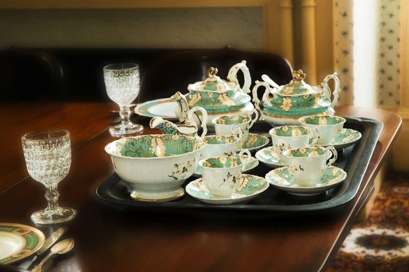 Teezeit Stockfotos