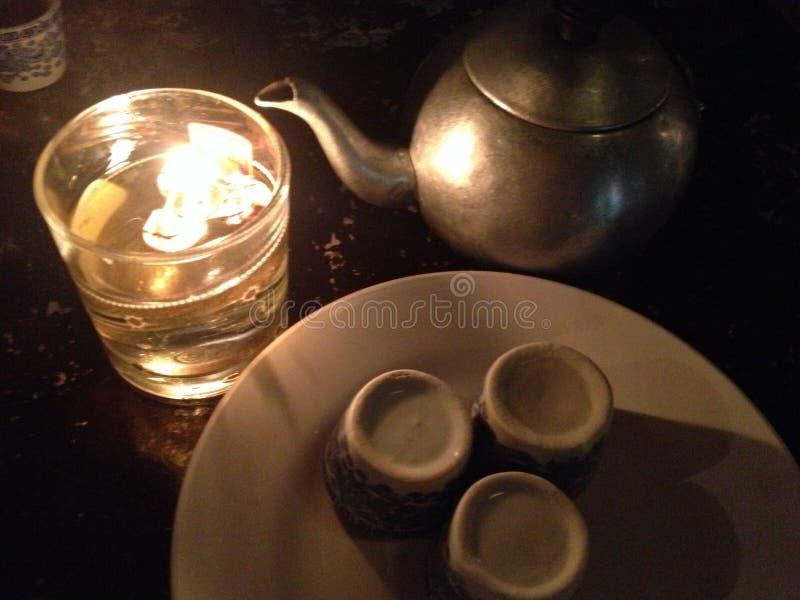 Teezeiten lizenzfreies stockfoto
