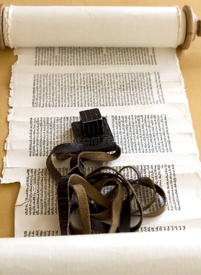 Tefillin e Torah immagine stock libera da diritti
