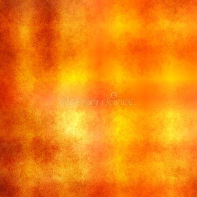 Tegel de van Achtergrond grunge Warme van de Kleur stock illustratie