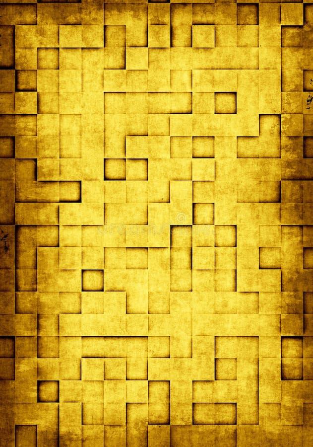 tegelplattor för bakgrundsgrungefyrkant vektor illustrationer