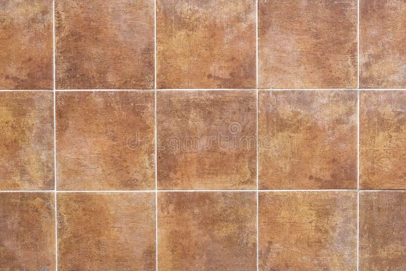 Tegelplattor med rostig textur i hög upplösning arkivbild