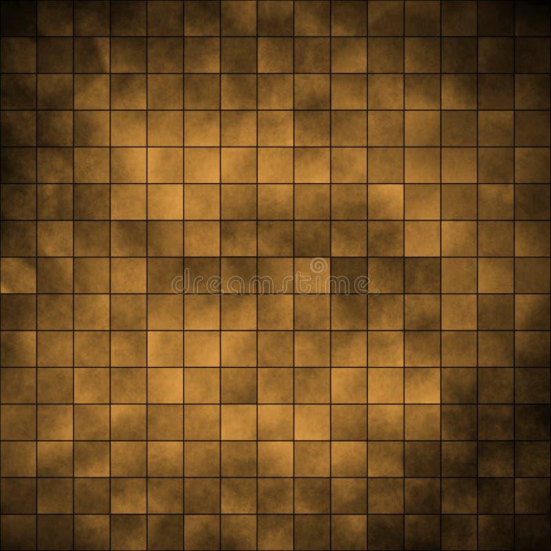 Tegels - goud stock foto's