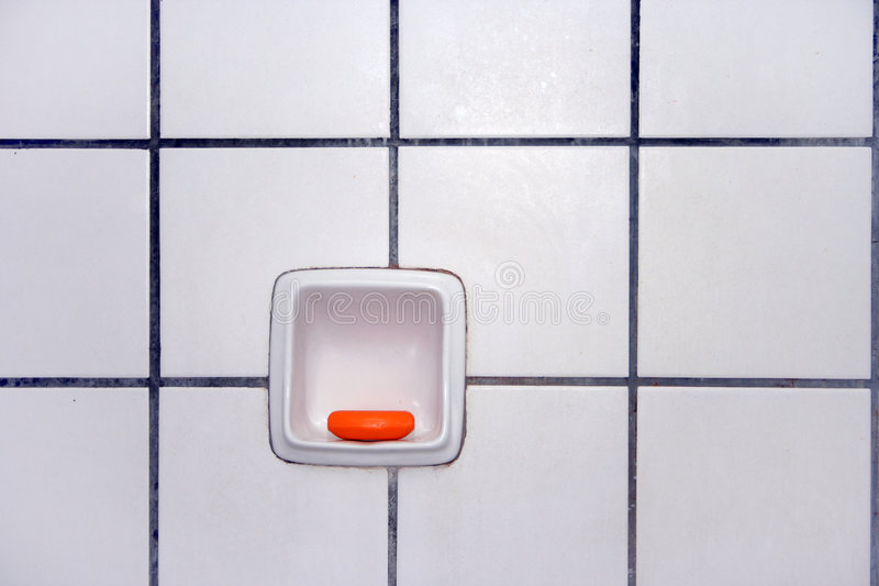 Tegels van badkamers royalty-vrije stock foto