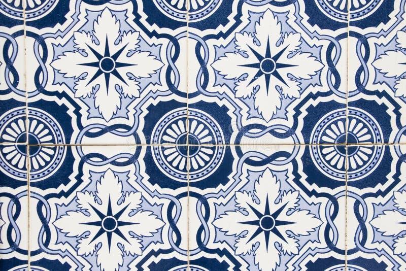 Tegelspatroon van een gebouw royalty-vrije stock foto