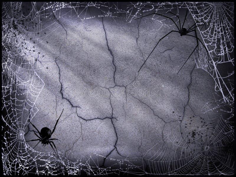 tegelstendark halloween arkivbild