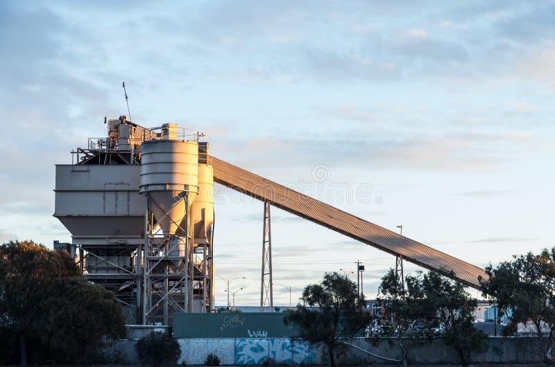 Tegelstenfabrik i Footscray arkivbild