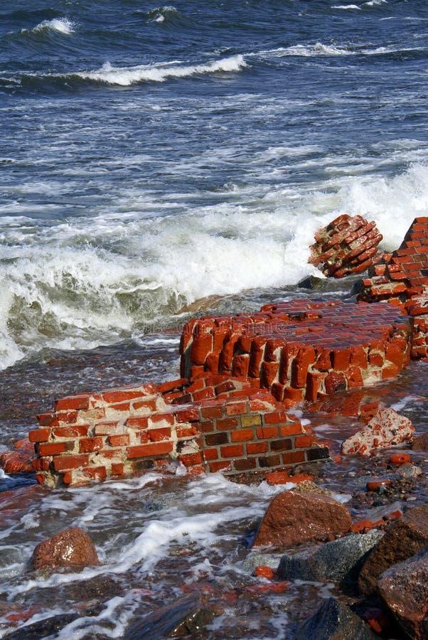 Download Tegelstenhav fotografering för bildbyråer. Bild av detaljer - 3526287