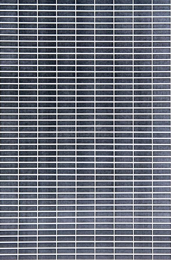 Tegelstenmodelltryck som testar svart färgpulver royaltyfria foton